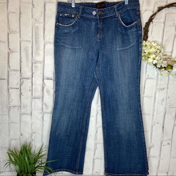 Torrid boot cut jeans size 16 S